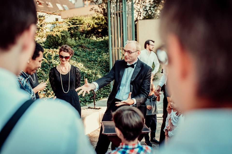 Zauberer Tischzauberei Hochzeit Odenwald